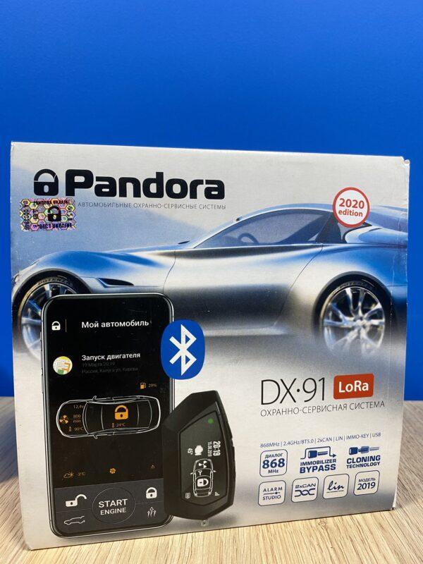 Двохстороння автосигналізація Pandora DX 91 v.2 LoRa