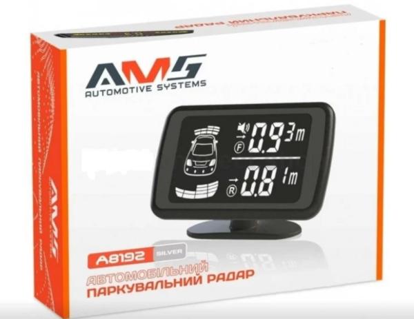 Паркувальний радар (парктронік) AMS A8192 Silver