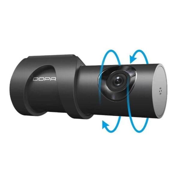 Відеореєстратор DDPai mini3 WQXGA 1600p Wi-Fi WDR Sense Reality eMMC 32 Гб